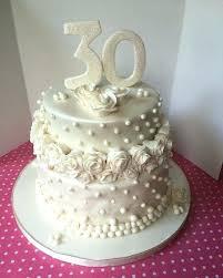 30th Wedding Anniversary Cake Ideas Aseetlyvcom