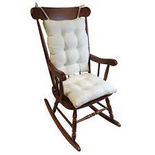 rocking chair cushions. Fine Cushions Gripper Omega Ivory Jumbo Rocking Chair Cushion Set Inside Cushions O