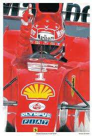 Find great deals on ebay for ferrari f2004. Schumacher Ferrari F2004 Painting By Gerardo Schneider
