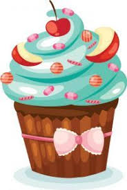 cupcakes with sprinkles clipart.  Clipart CUPCAKE U0026 BOLOS E ETC In Cupcakes With Sprinkles Clipart C