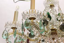 chandeliers maria theresa chandelier mid century with fruit crystals for at from dating the