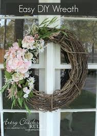a little simpler wreath diy fl wreath