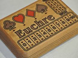 euchre box 24 95 plus tax size 4 by 6 made of canadian hard