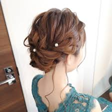Yukiushida Yukingyo0630 結婚式アップ ヘアセットヘア
