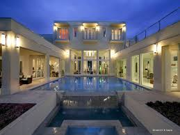 u shaped house plans with pool in the middle elegant modern house plans with courtyards in