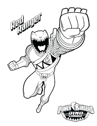 Blue Power Ranger Coloring Pages At Getdrawingscom Free For