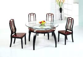 round wood dining table with glass top glass top round dining table with wood base with