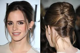 Twist Hair Style saturdaynight hair how to diy emma watsons pretty updo glamour 8645 by stevesalt.us