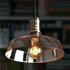 amber glass pendant light industrial vintage hanging barn style with shade lamp milk lights