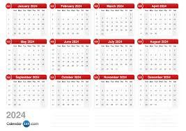 Year To Year Calendar 2024 Calendar