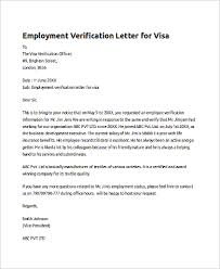 10 Sample Employee Verification Letters Sample Templates