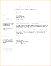 Formal Business Letterhead Email G Template Professional Formal Business Kind Of