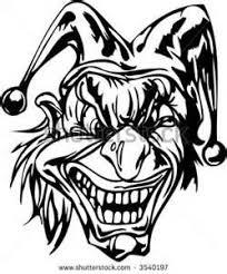 Killer Clown Masker Kleurplaat Scary Clown Coloring Pages Halloween