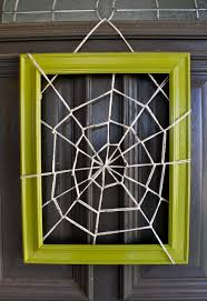 and then I loved the big web so much.I made a smaller version for our  front door.