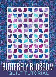 New Friday Tutorial: The Butterfly Blossom Quilt & Make a Butterfly Blossom Quilt with Jenny Doan of MSQC! Adamdwight.com