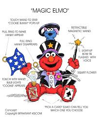 Elmo Light Up Wand Magic Elmo
