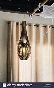 Bamboo Lamp Stock Photos Bamboo Lamp Stock Images Alamy