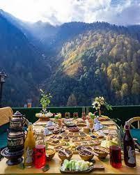 Turkish breakfast in Ayder Rize Turkey   Turkey photos, Rize, Istanbul  travel
