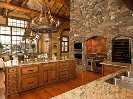 Log Cabin Kitchen Decor 24 Kitchens With Jaw Dropping Cathedral Ceilings Stove Luxury