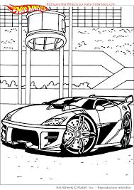 Coloriage Voitures Hot Wheels Sur Hugolescargot Com