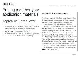Rental Application Cover Letter How To Write A Rental Application ...