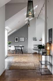 Attic Apartment Hallway Decor