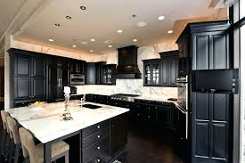 Antique Black Kitchen Cabinets Unique Inspiration Design