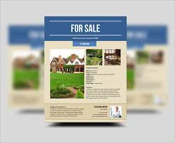 property pamphlet 20 stylish house for sale flyer templates designs free