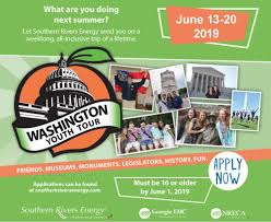 to learn more about the application process or an application visit washington youth tour