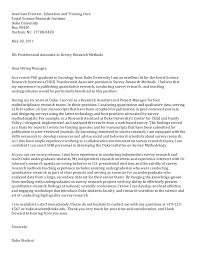 Resume Sample Cover Letter For Postdoctoral Position In Science