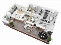 best 3 bedroom house floor plans 3d excelential 3d 3 bedroom house plans photo