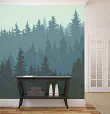 Forest Wall Murals  Get Lost in Your own Room. forest wall murals birch 10  Breathtaking Wall Murals for Winter Time