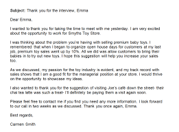 Thank For Interview How To Write A Thank You Letter After An Interview