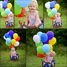 hot air balloon baby photography