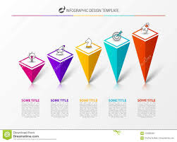 Infographic Design Template Creative Concept With 5 Steps
