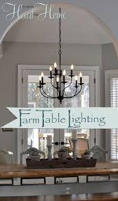 Best  Farmhouse Lighting Ideas On Pinterest Farmhouse - Dining room lights ceiling