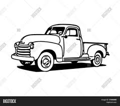 pick old ford pickup trucks drawings up truck drawing at getcom free ...