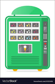Ice Vending Machine Awesome Ice Cream Vending Machine Icon Royalty Free Vector Image