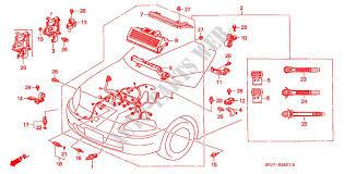 engine wire harness 96 engine vti 1996 civic crx honda cars honda honda cars civic crx 1996 vti 5 speed manual engine engine wire harness 96