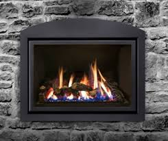 the archgard 31 dvi33n gas fireplace insert also has electronic ignition making a pilot light