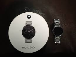 moto android watch. moto 360 android wear smart watch stainless steel moto