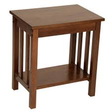 legacy signature dark oak mission occasional tables