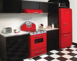 1950 Kitchen Furniture Kitchen Design Awesome Red Kitchen Design Ideas Contemporary Red