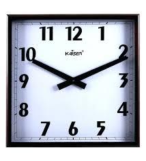 atomic outdoor wall clock la technology
