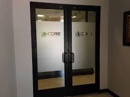 office door with window. Unique With Office Doors Or Windows Frosted Vinyl Window Graphics In Lincoln NE Inside Door With Window