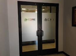 where to use frosted vinyl window graphics in your lincoln office frosted glass doors in buena