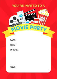 Movie Ticket Invitations How To Throw A Fun Backyard Movie Party And