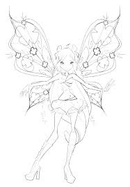 fairy color pages coloring cute fairy coloring pages