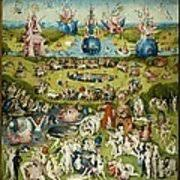 garden of earthly delights poster. The Garden Of Earthly Delights Poster L