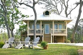 small beach cottage plans on pilings house nice tiny stilts